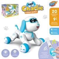 """Робот радиоуправляемый, интерактивный """"Собака"""", световые и звуковые эффекты, №SL-02977   4376317"""