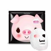 Питательная тканевая маска для лица на основе йогура и бамбукового угля One Spring YZC7862