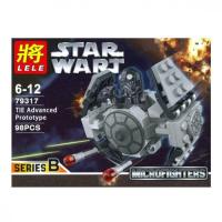 Конструктор LELE Star Wart 6 штук в блоке 79317