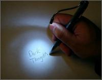 Ручка фонарик, красный лазер, ультрафиолетовый фонарик