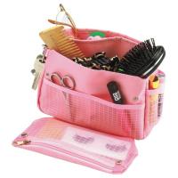 Органайзер для сумки розовый