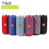 Колонка блютуз портативная T&G 117