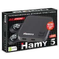 "Игровая приставка Sega - Dendy 16bit - 8bit ""Hamy 5""  (505-in-1) Black"