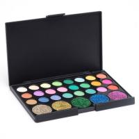 Набор теней 24 цвета и 5 цветов с блестками   4604667