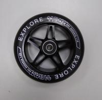 Колесо 110 мм для трюкового самоката, аллюминиевая ступица+подшипник