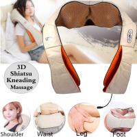 Роликовый массажер для шеи и плеч Massager of neck kneading LY-7