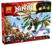 Конструктор Lele 79345 Ninja 597 деталей
