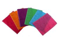Салфетка с волокнами бамбука 23х18 см, цвет МИКС 754820