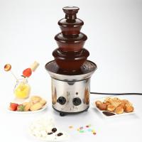 Шоколадный фонтан-фондю Chocolate Fondue Fountain KEYA (4 яруса)