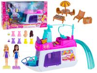 Набор Отпуск 7811 Кукла, яхта, мебель и аксессуары в коробке (10702070/050219/0021411, Китай)