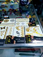 Временные Флэш татуировки 1 лист в ассортименте