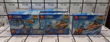 Конструктор LELE Cities 28029 8 шт в блоке