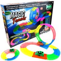Светящийся и гнущийся трек Magic Track 366+X деталей, 2 машинки