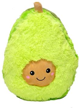 Мягкая игрушка Авокадо меховой 50 см