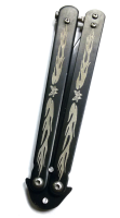 Складной нож бабочка BL-903 черный
