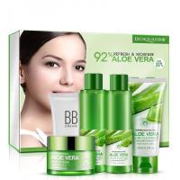 Подарочный набор Bioaqua из 5 средств для лица с Алоэ Вера 5-set Refresh & Moisture Aloe
