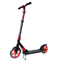 Самокат взрослый TREMER PRO, колеса 220-200мм, Алюминиевая рама до 100кг., усиленная фиксация руля