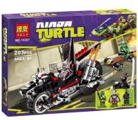 Конструктор Ninja Turtle BELA 10207 203 детали