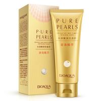Пенка для умывания с жемчужной пудрой Pure Pearls, 100гр BQY4556