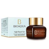 Ночной антивозрастной крем для век Bioaqua, BQY0955