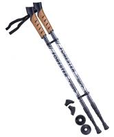 Палки для скандинавской ходьбы BERGER Forester, 67-135 см, 3-секционные
