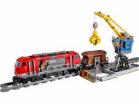 Конструктор CITIES Железная дорога 1078 деталей K8014