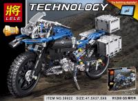 Конструктор Lele 38022 Мотоцикл 603 детали