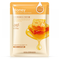 Маска тканевая для лица с медом rorec Honey HC4013