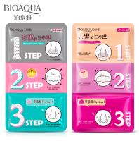 Трехступенчатая система масок Bioaqua для очистки пор от черных точек, BQY7953