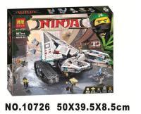 Конструктор Ninja LELE 31080 977 деталей