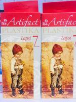 """Пластика (пластилин отверждаемый) """"LAPSI"""" 7 классических цветов 140 г в картонной упаковке, арт. 710"""