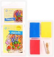 """Набор пластики с фурнитурой и инструкцией """"Коллекция Цветы. Лаванда"""", арт. 7505-55-53"""