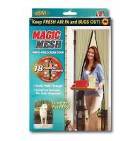 Москитная сетка на 18 магнитах Magic Mesh (Меджик Меш)