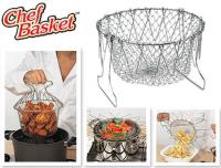 !!! Складная решетка Шеф Баскет (Chef Basket) для приготовления пищи