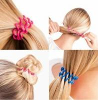 Резинка пружинка (спиральки) для волос силиконовая