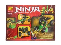 Конструктор Lele 79040 Ninja 188 деталей