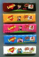 Конфеты жевательные Love is... поштучно