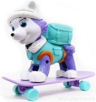 Собачка герой  на сноуборде 906A