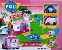 Робокары Парковка Поли Робокар City Hospital Playset XZ-193