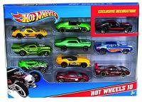 Хот Вилс Hot Wheels Машинки 10 в 1