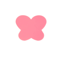 Силиконовый коврик для дизайна ногтей Бабочка - малиновый
