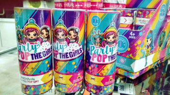 Хлопушка PARTY POP 24 шт в блоке HT218 / AA166