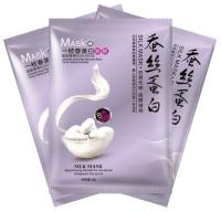 Тканевая маска для лица с протеинами шелка с эффектом отбеливания One Spring YZC9314