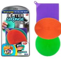 Силиконовые губки для мытья посуды Better Sponge 3 в 1 16811-31