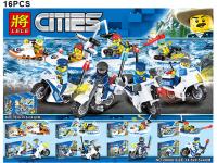 Конструктор LELE Cities 28006 16 шт в блоке
