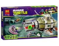 Конструктор Ninja Turtle BELA 10265 683 детали