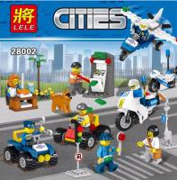Конструктор LELE Cities 28002 16 шт в блоке
