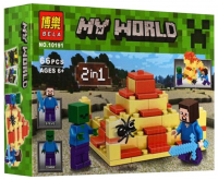 Конструктор Bela My World 10191 66 деталей