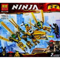 Конструктор BELA Ninja 11160 188 деталей