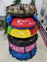Тюбинг (ватрушка для катания) ПВХ-ПВХ 120 см